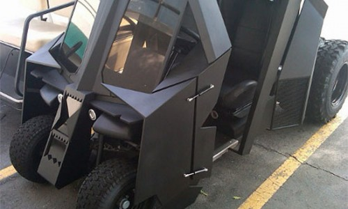 Geek My Ride: The Bat-Golf-Cart?