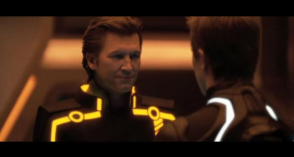 young jeff bridges tron. Tron Legacy – Jeff Bridges