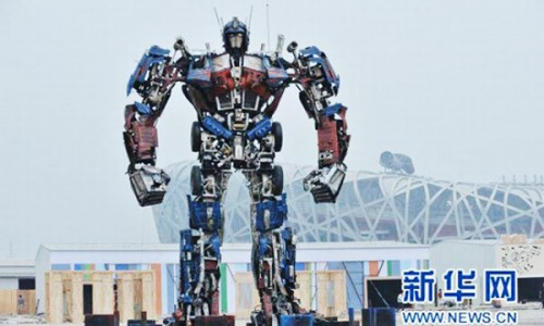 Take That Japan! – China Builds an Optimus Prime