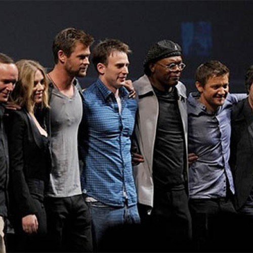 Comic-Con 2010:  Ladies and Gentlemen, the Cast of the AVENGERS