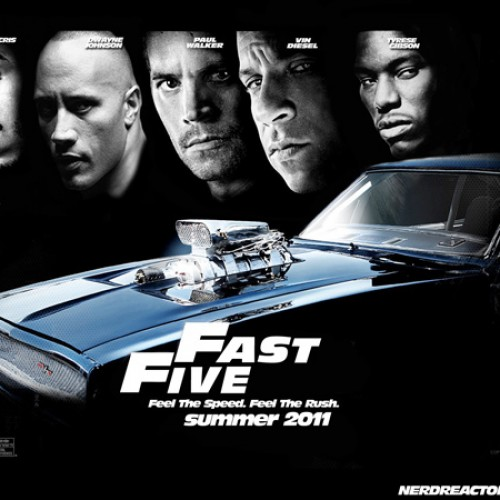 Nerd Reactor Podcast – Fast Five Review