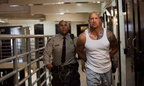 The Rock gets 'Faster' before 'Fast Five'