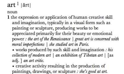Essay style definition in art