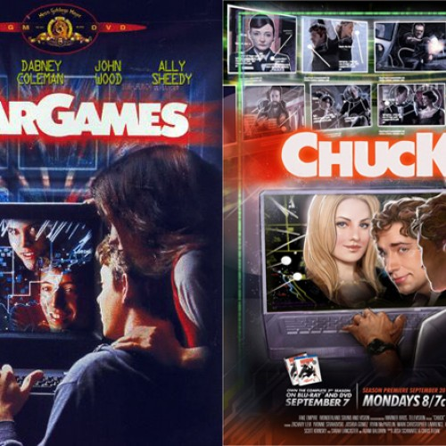 Comic-Con 2010: 3 New Awesome CHUCK Posters