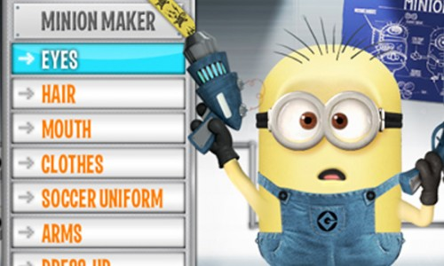 Creat-Your-Own Minion from Despicable Me