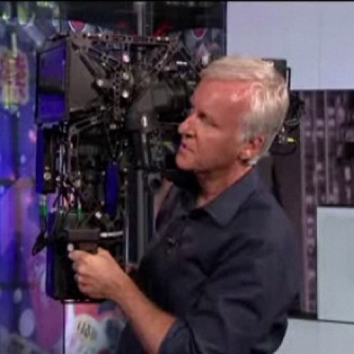 James Cameron Shows Off His 3D Camera on G4