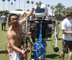The Coachella ROBOT!!