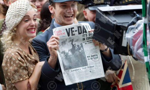 A Look at VE Day for Captain America: The First Avenger