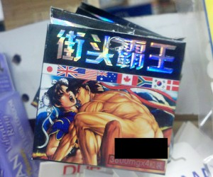 street fighter condoms