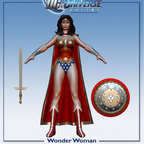 Wonder Woman Unveiled for DC Universe Online Gallery