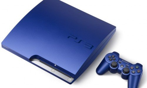 Gran Turismo 5 Bundled with Blue PS3 (Japan Only)