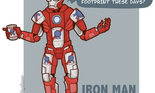 7 of Your Favorite Superheroes Go Hipster