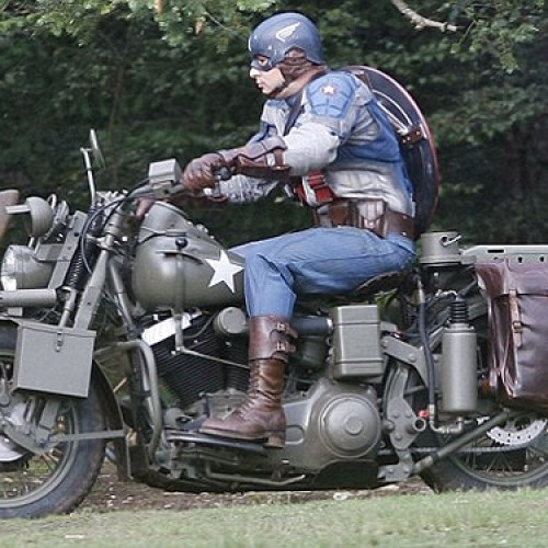 BEHOLD! First Look at Captain America