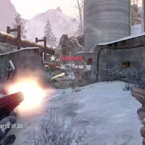 New Videos of CALL OF DUTY: Black Ops Multiplayer