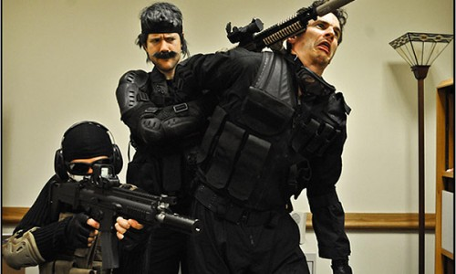 Interview with the Manly Men Behind Modern War Gear Solid Parody