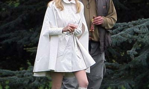 First Look at a Bundled Up Emma Frost