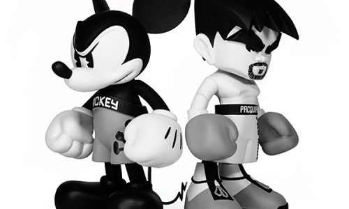Mickey Mouse Throws It Down with Manny Pacquiao