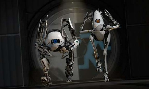 Portal 2 Co-Op in Action