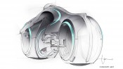 TRON Legacy - Design - Vehicle - 11