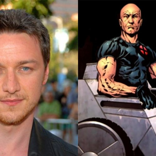First look at James McAvoy in X-Men: Days of Future Past