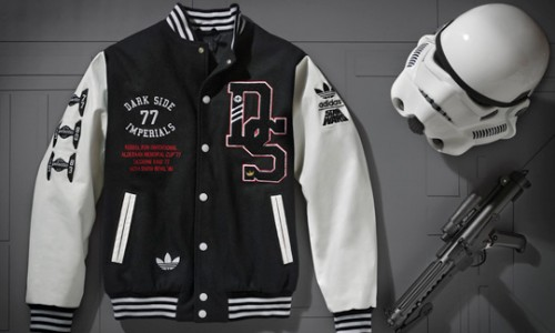 Go Imperials! New Adidas Star Wars Varsity Jacket