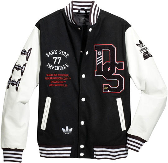 New Adidas Star Wars Varsity Jacket