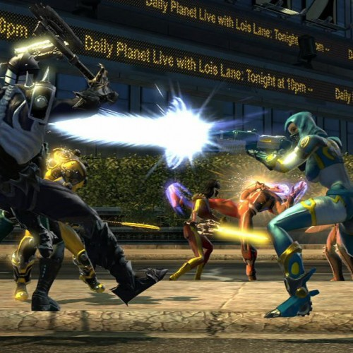 New DC Universe Online Screenshots Showing PvP and PvE