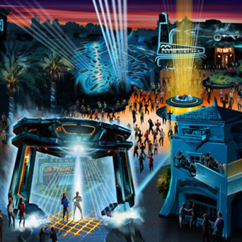 First Look at California Adventure's ElecTRONica