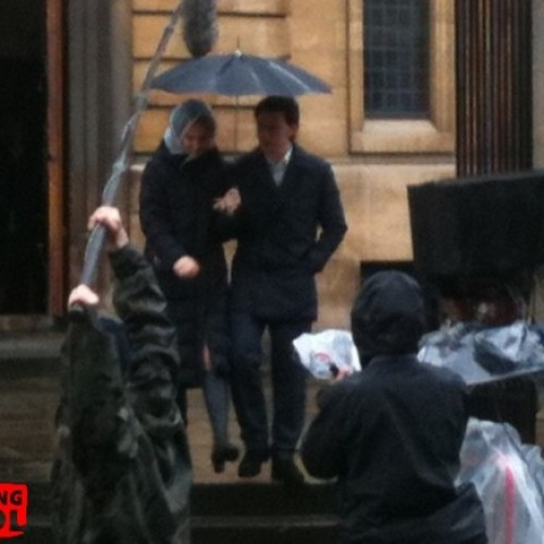 Frist Look at Professor X, Moira and Mystique, on the Set of X-Men: First Class