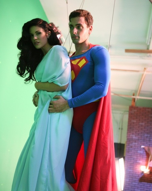 Sfw New Photos From The Set Of Superman Xxx A Porn
