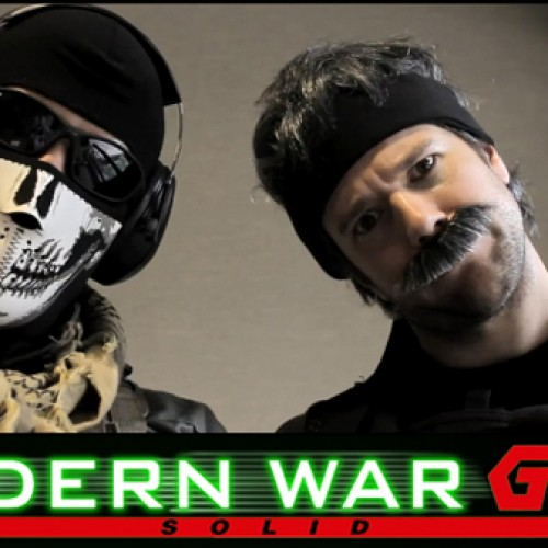 Modern War Gear Solid Part 4: Snake vs. Master Chief