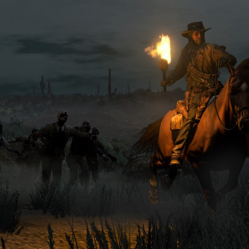 New Screenshots from Red Dead Redemption's Undead Nightmare Pack