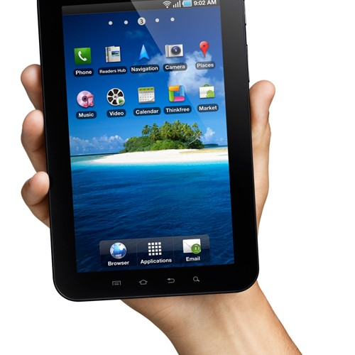 Watch Out iPad, Here Comes the Samsung Galaxy Tab