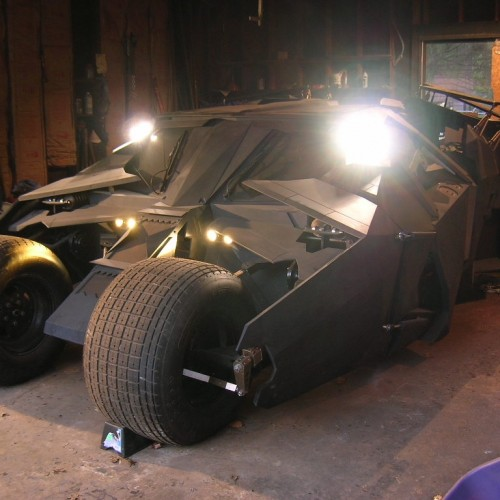 Geek My Ride: Fan Builds His Own Batman Tumbler
