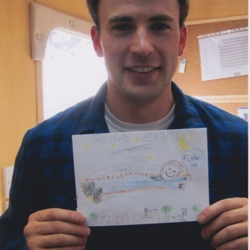 Happy Birthday from Captain America: Chris Evans Sends Out a Very Special Happy Birthday to a Fan