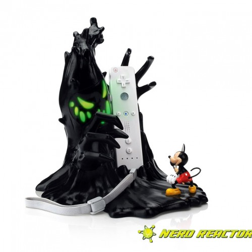 Epic Mickey Wii Controller and Charging Station Ready for November