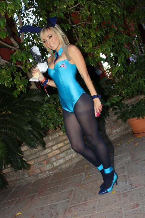 as Samus Aran in Her Zero
