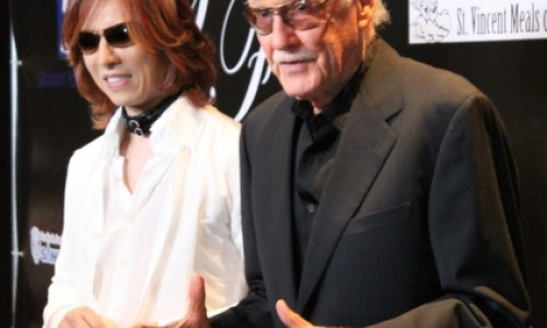 Stan Lee Teams Up with Yoshiki From X Japan