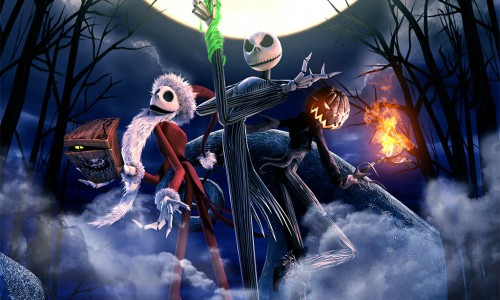 Experience The Nightmare Before Christmas in 4D!