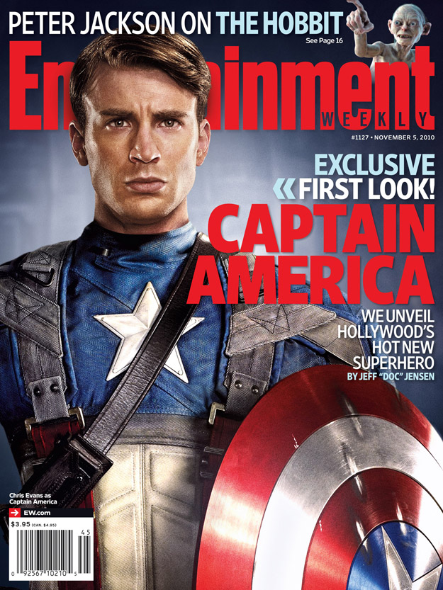 Chris Evans as Captain America Revealed! - Nerd Reactor