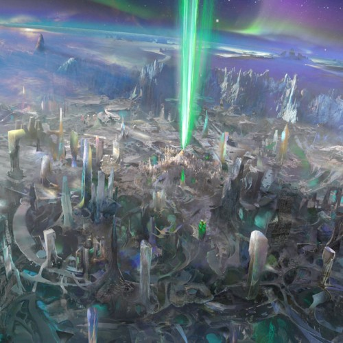 Green Lantern Concept Artworks Are…Green!