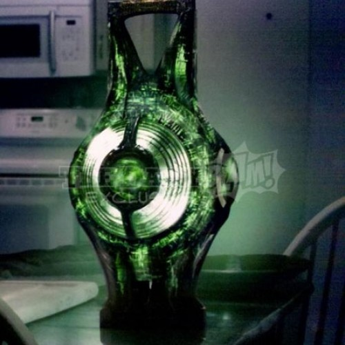 What the Hell Is That?: Green Lantern Power Battery Revealed