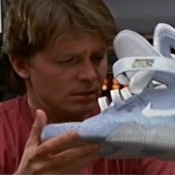 ТОГДА. Michael J. Fox Marty McFly's - Nike MAG