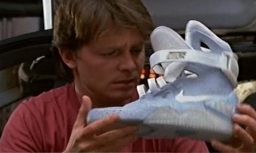 Bid on Marty McFly's Shoes from Back to the Future II