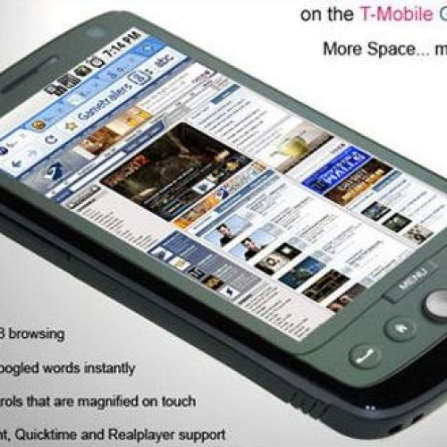 T-Mobile G2 with Google Phone Preview
