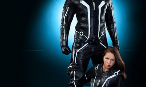 Super Sweet Official Tron Motorcycle Suit