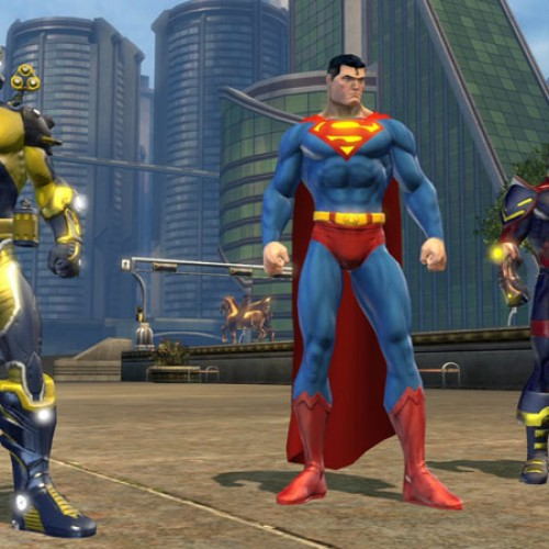 More Screenshots of Metropolis and Gotham City for DC Universe Online
