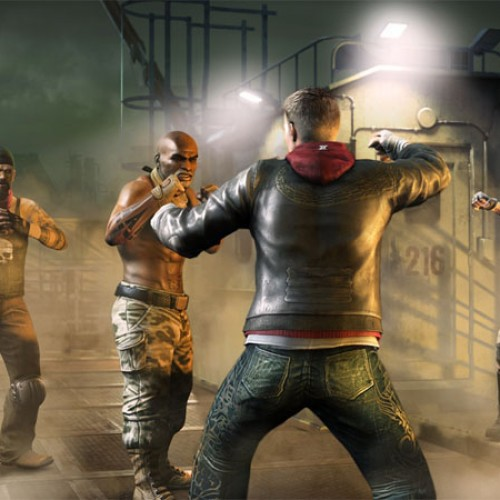 Kinect's Fighters Uncaged Douchebag Pummeling Gallery