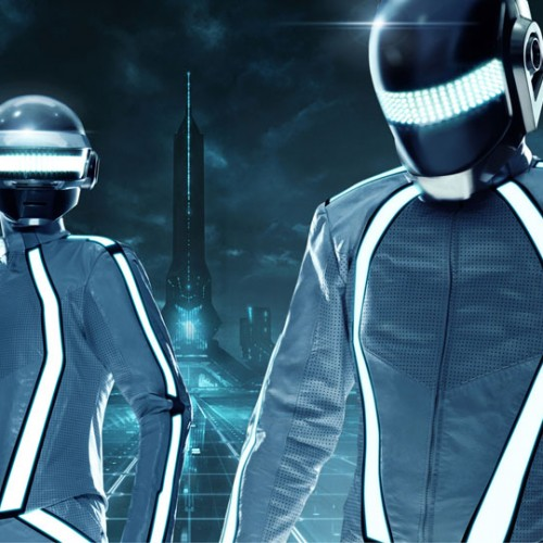 TRON Tuesday: New Image of Daft Punk in TRON: Legacy