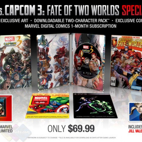 Capcom Announces Marvel vs. Capcom 3 Collector's Edition